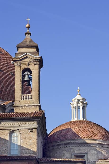 San lorenzo bell tower in Florence