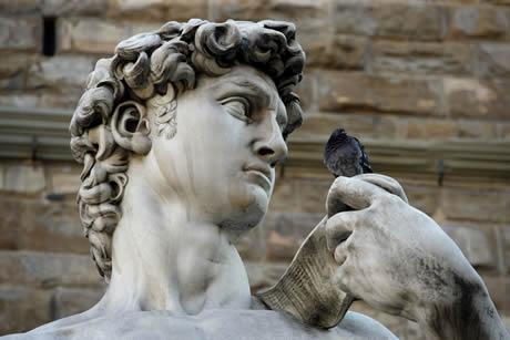 Statua del David a Firenze
