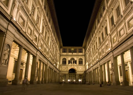 Galeria uffizi Florenta