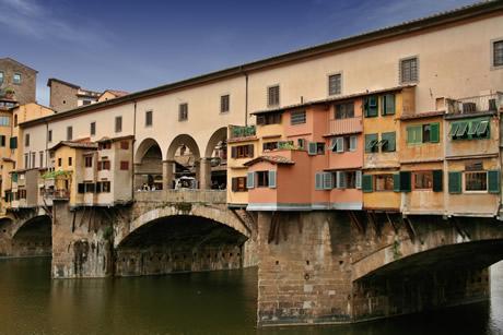 podul Ponte Vecchio-  Florența