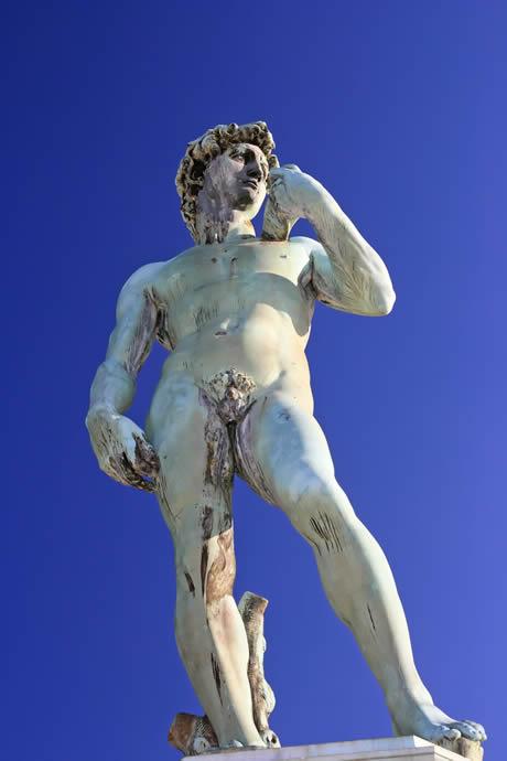 Statuie david michelangelo Florenta